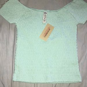 American rag crop top size small